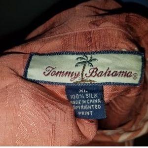 Tommy Bahama Shirts - Tommy Bahama XL Pink USC Trojans Mens Short Sleeve